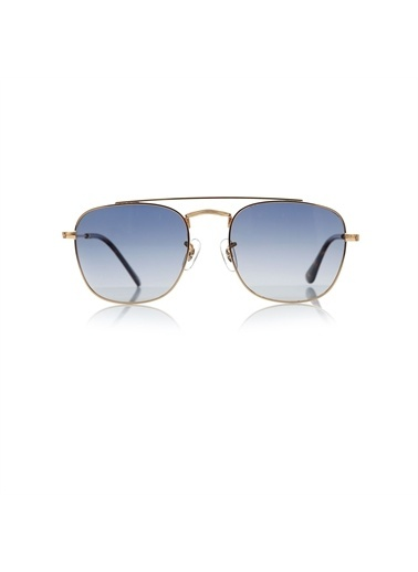 Optoline Opc 17010 05 Kare  Gövde Polarize Cam Erkek Güneş Gözlüğü Altın